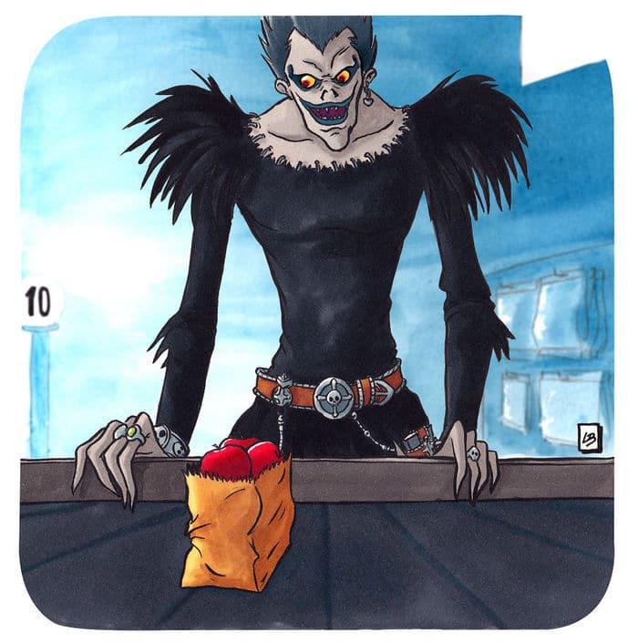 Aqui está o que personagens famosos comprariam no supermercado 49