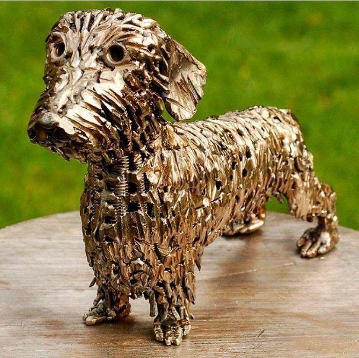 Artista americano traz materiais reciclados de volta à vida, aqui estão 42 de suas esculturas incríveis 27