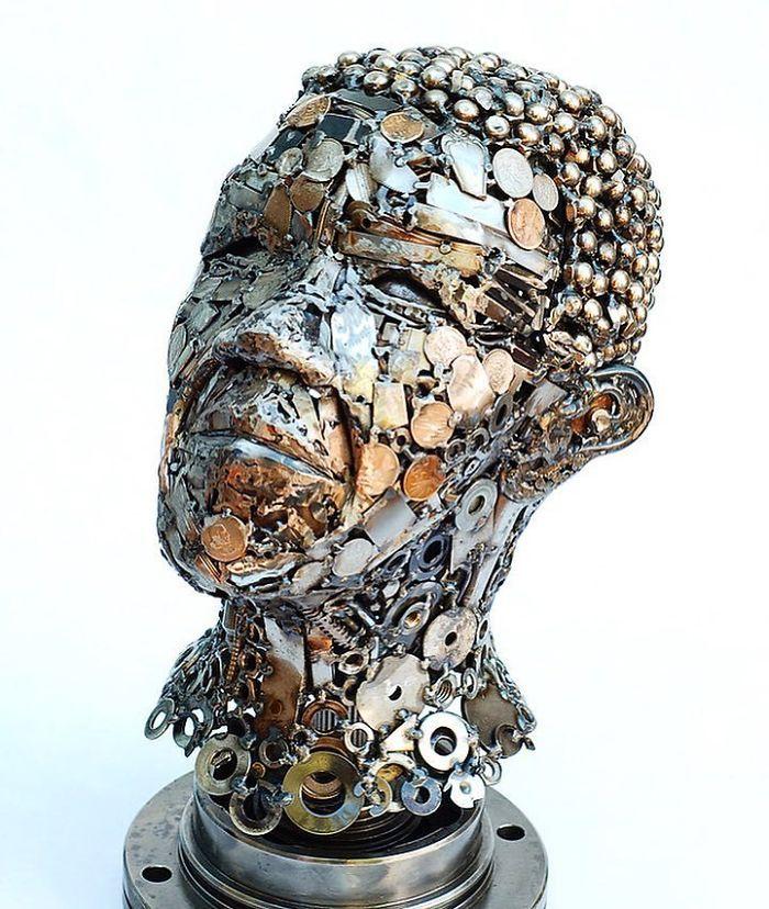 Artista americano traz materiais reciclados de volta à vida, aqui estão 42 de suas esculturas incríveis 28