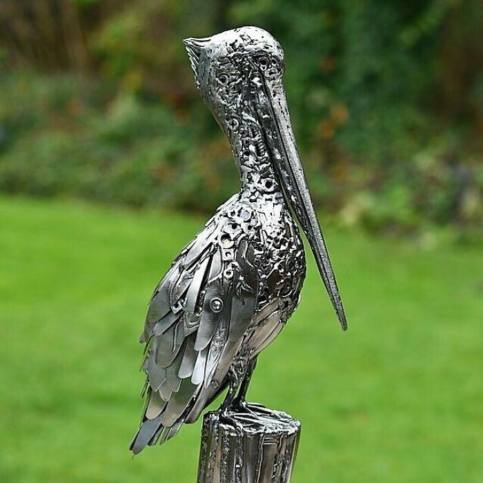 Artista americano traz materiais reciclados de volta à vida, aqui estão 42 de suas esculturas incríveis 33