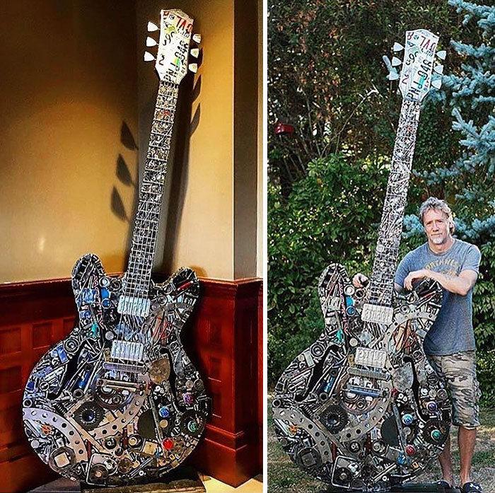 Artista americano traz materiais reciclados de volta à vida, aqui estão 42 de suas esculturas incríveis 43