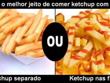 Seus costumes com ketchup são normais? 6