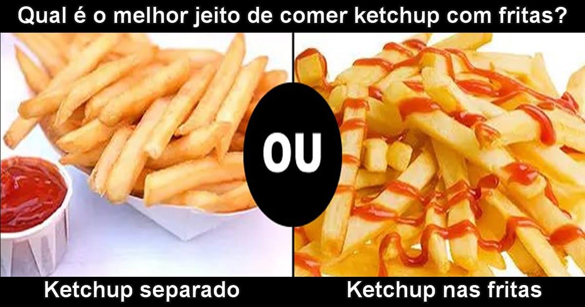 Seus costumes com ketchup são normais? 2