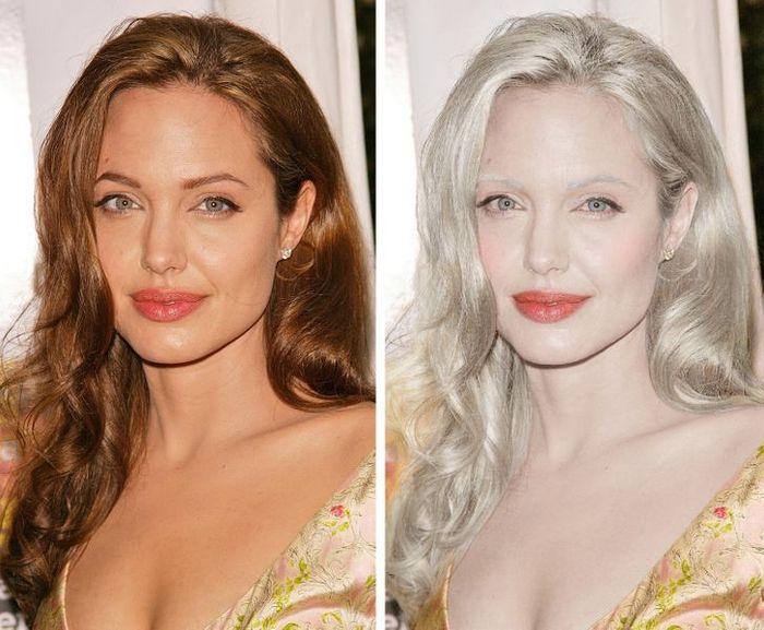 Como seriam 15 celebridades se fossem albinos 3