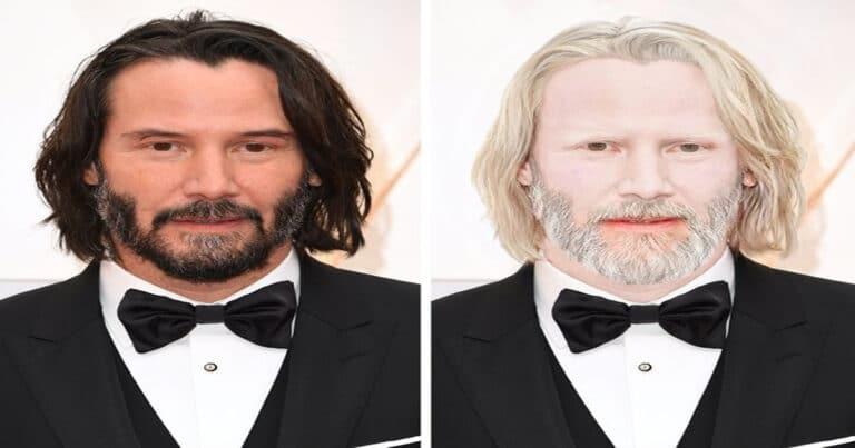 Como seriam 15 celebridades se fossem albinos 1