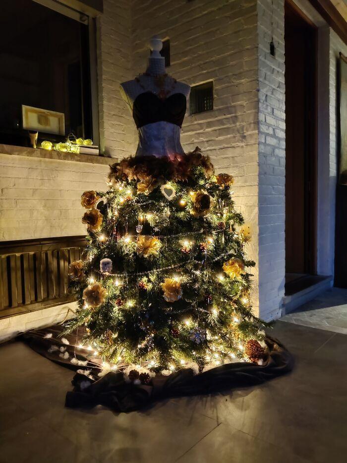 Ei, leitores, compartilhem sua árvore de Natal conosco 19