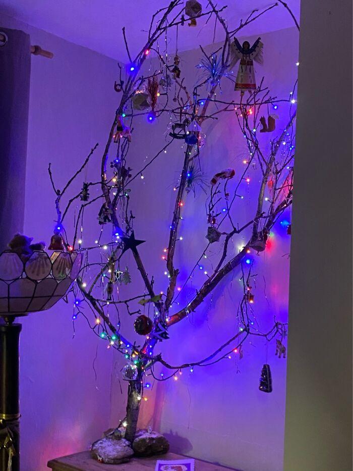 Ei, leitores, compartilhem sua árvore de Natal conosco 28