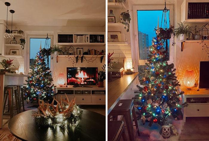 Ei, leitores, compartilhem sua árvore de Natal conosco 33