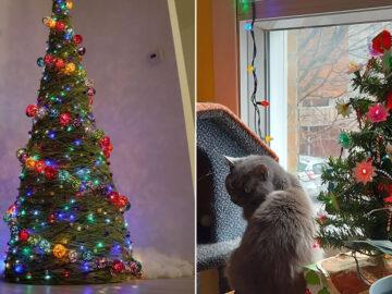 Ei, leitores, compartilhem sua árvore de Natal conosco 34