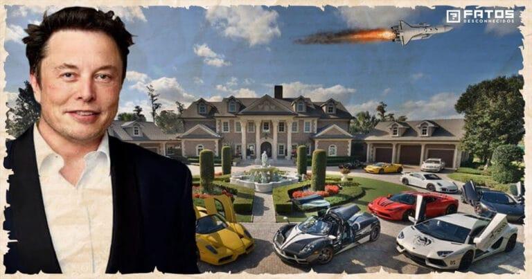 Como Elon Musk gasta seus bilhões de dólares? 1