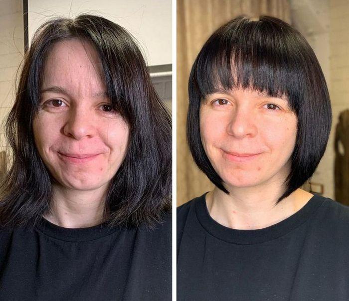 16 garotas que se despediram de seus cabelos compridos 4