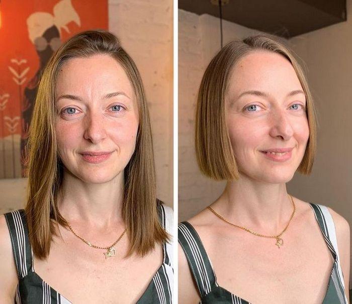 16 garotas que se despediram de seus cabelos compridos 6