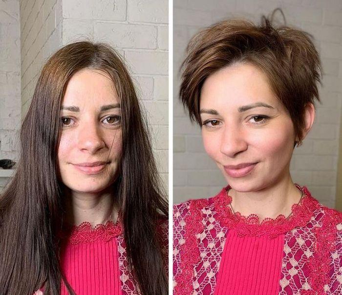 16 garotas que se despediram de seus cabelos compridos 7