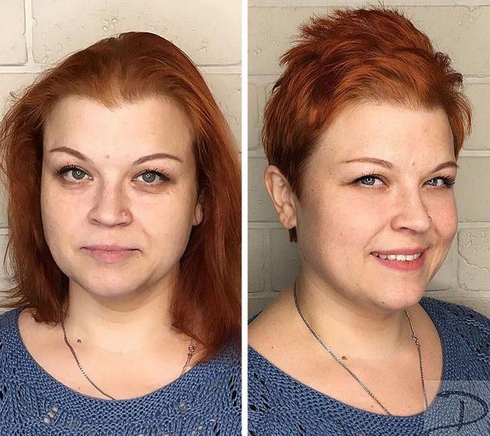 16 garotas que se despediram de seus cabelos compridos 8