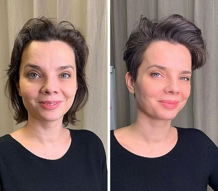 16 garotas que se despediram de seus cabelos compridos 11