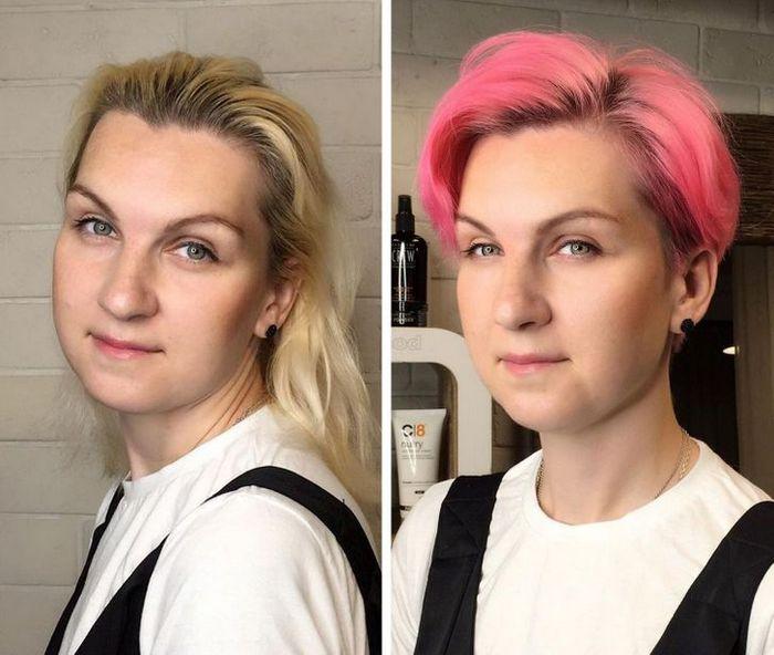 16 garotas que se despediram de seus cabelos compridos 13