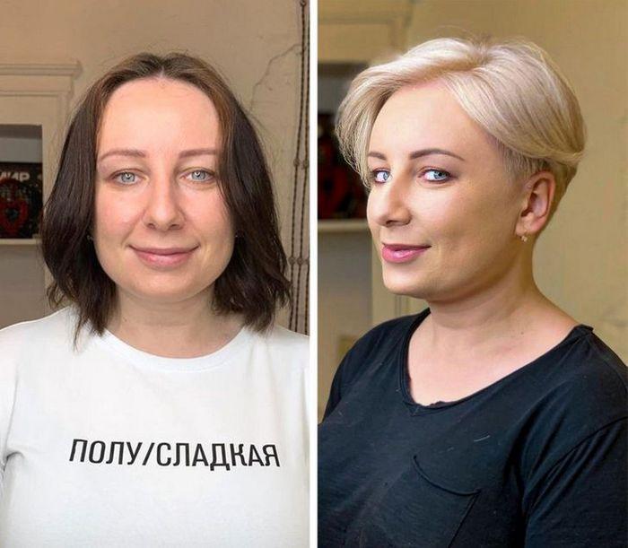 16 garotas que se despediram de seus cabelos compridos 16