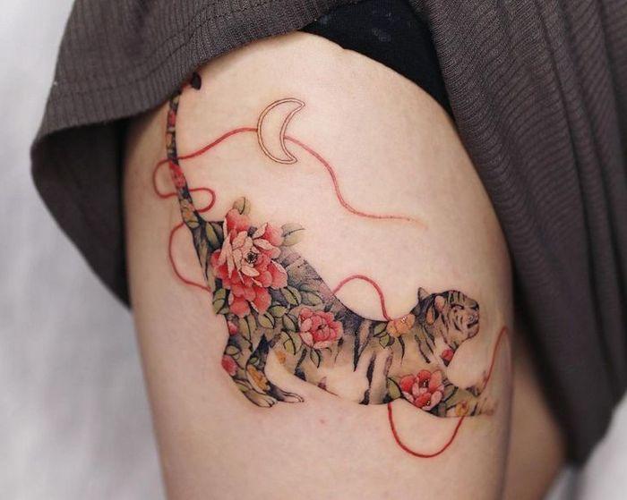 Uma artista coreano cria tatuagens delicadas e elas são a personificação da ternura 3