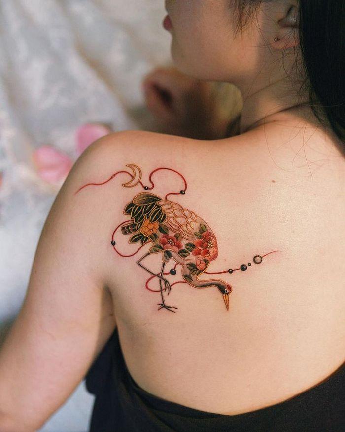 Uma artista coreano cria tatuagens delicadas e elas são a personificação da ternura 9