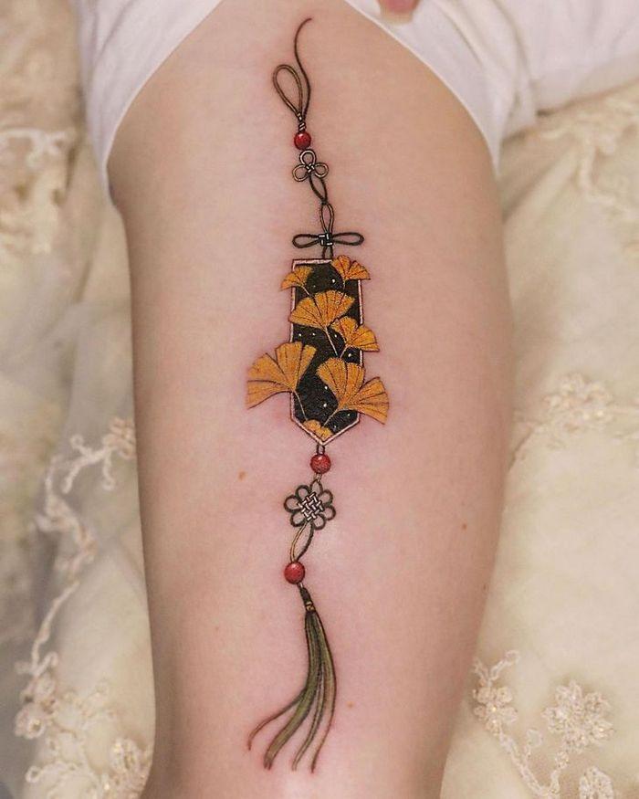 Uma artista coreano cria tatuagens delicadas e elas são a personificação da ternura 10