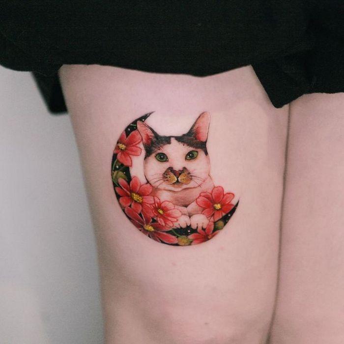 Uma artista coreano cria tatuagens delicadas e elas são a personificação da ternura 12