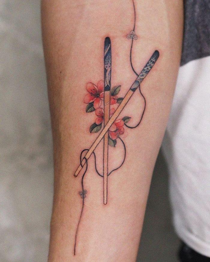 Uma artista coreano cria tatuagens delicadas e elas são a personificação da ternura 31
