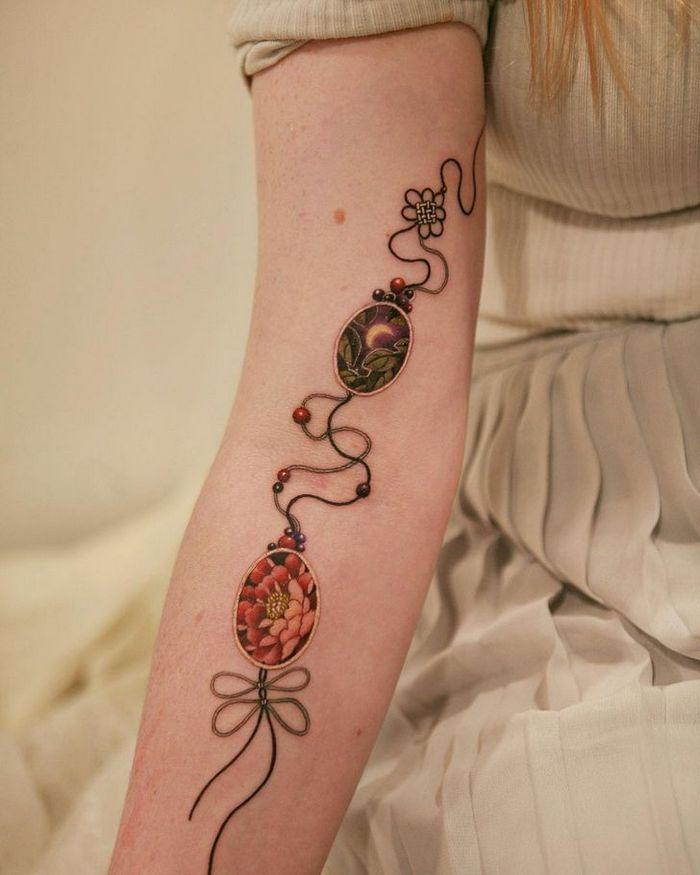 Uma artista coreano cria tatuagens delicadas e elas são a personificação da ternura 33