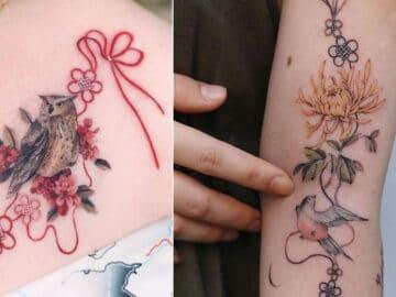 Uma artista coreano cria tatuagens delicadas e elas são a personificação da ternura 32