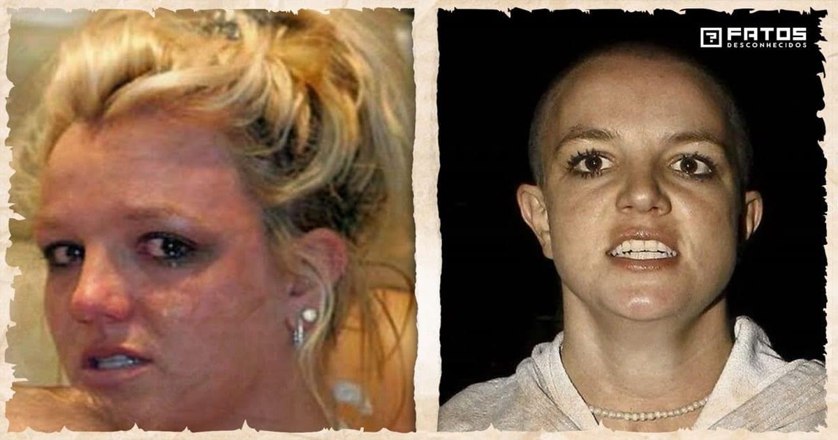 A trágica história de vida de Britney Spears 22
