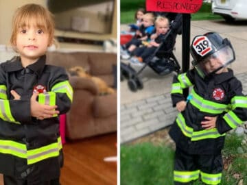 Criança de 4 anos salva a vida de sua mãe e cuida dos seus irmãos menores 3