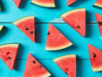 Você come estas frutas com ou sem semente? 6