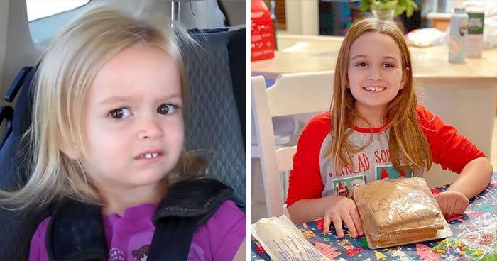 22 fotos de antes e agora que mostram como os memes famosos mudaram 21