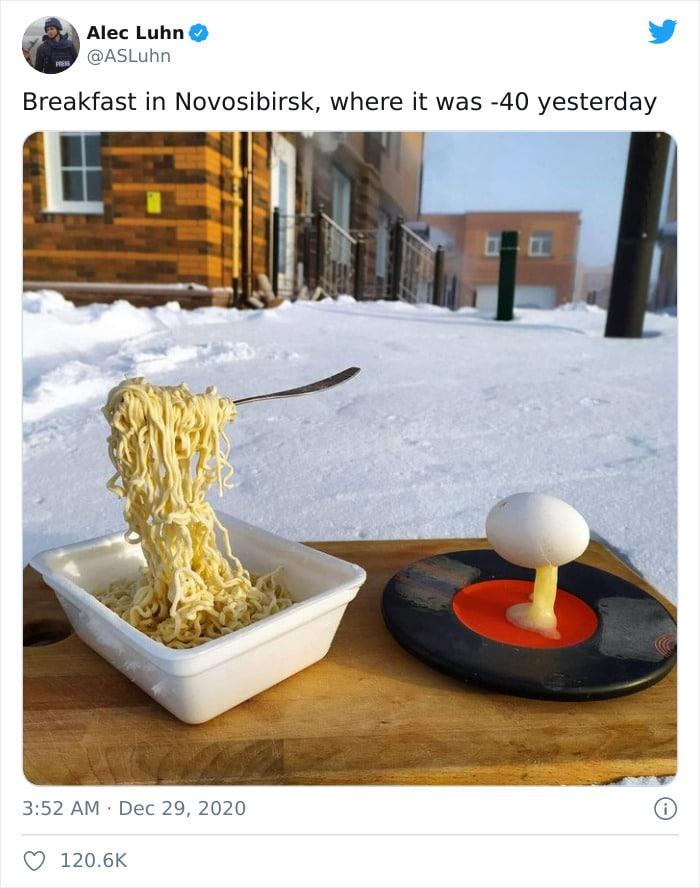30 fotos que mostram o quão insuportável está o frio na Rússia agora 2