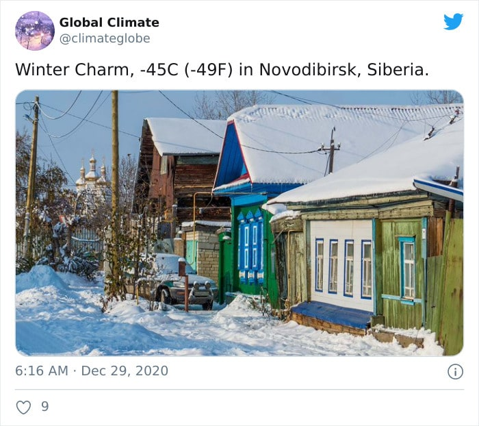 30 fotos que mostram o quão insuportável está o frio na Rússia agora 5