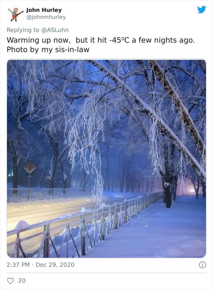 30 fotos que mostram o quão insuportável está o frio na Rússia agora 6