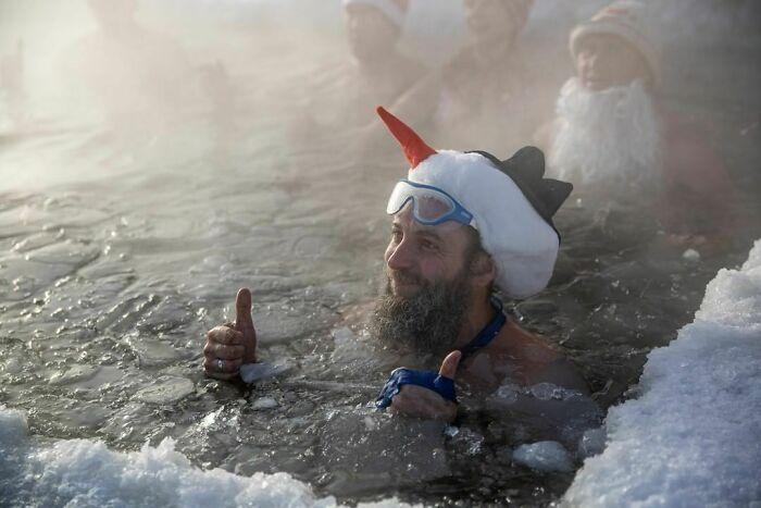 30 fotos que mostram o quão insuportável está o frio na Rússia agora 12