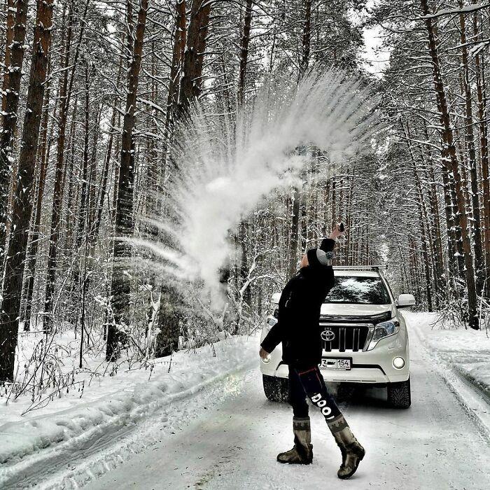 30 fotos que mostram o quão insuportável está o frio na Rússia agora 20