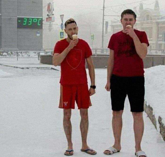 30 fotos que mostram o quão insuportável está o frio na Rússia agora 24