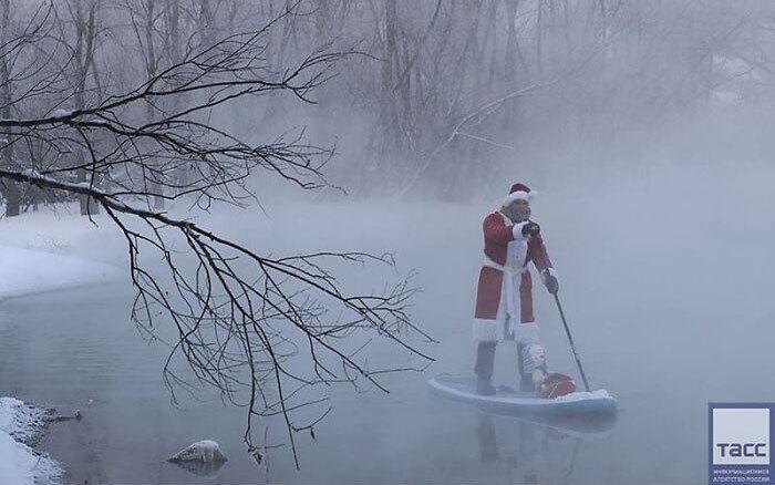 30 fotos que mostram o quão insuportável está o frio na Rússia agora 25