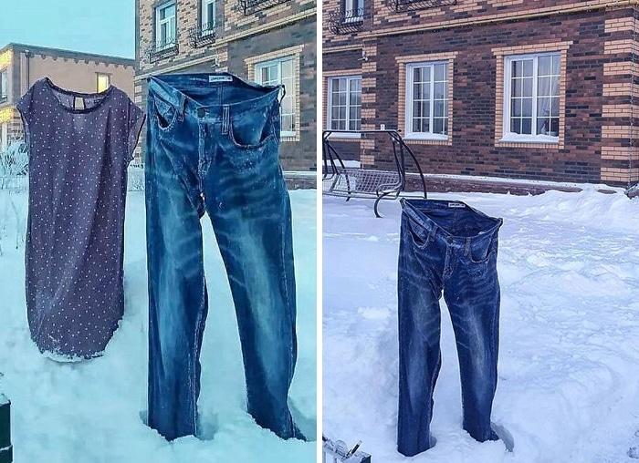 30 fotos que mostram o quão insuportável está o frio na Rússia agora 27