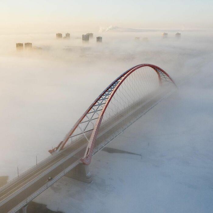 30 fotos que mostram o quão insuportável está o frio na Rússia agora 29