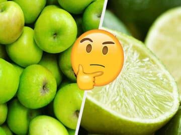 Você só pode salvar uma fruta de cada cor: 18