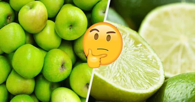 Você só pode salvar uma fruta de cada cor: 1