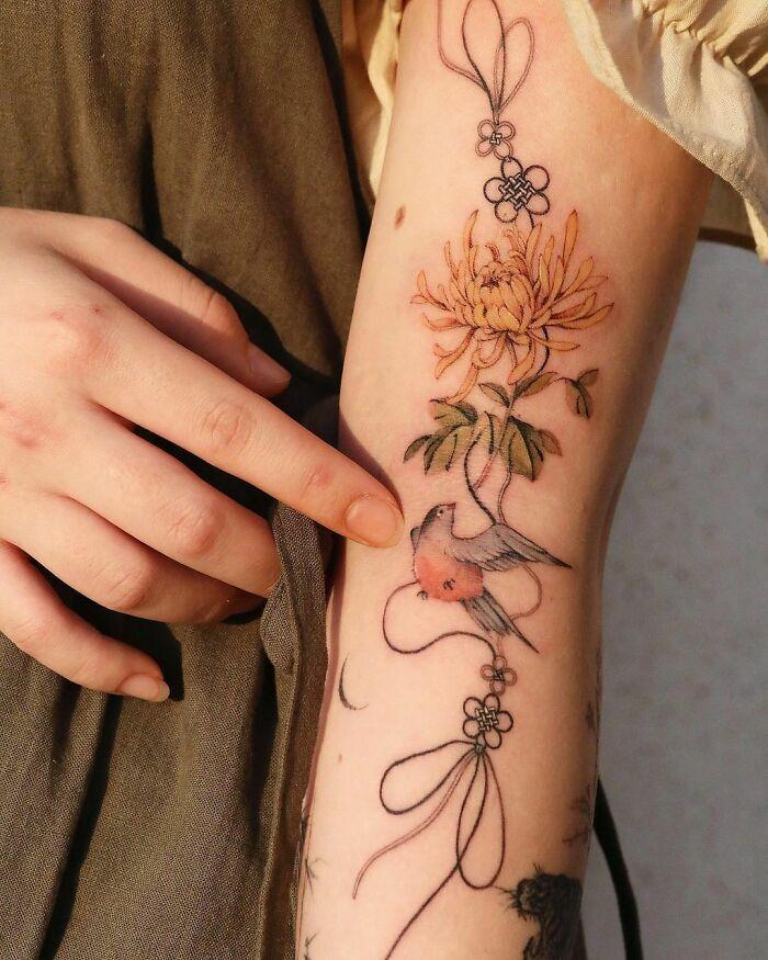 30 ideias de tatuagens por Sion Kwak 14