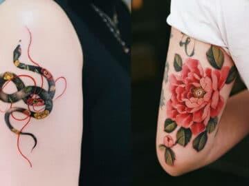 30 ideias de tatuagens por Sion Kwak 45