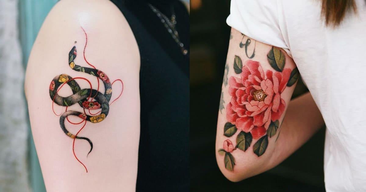 30 ideias de tatuagens por Sion Kwak 5