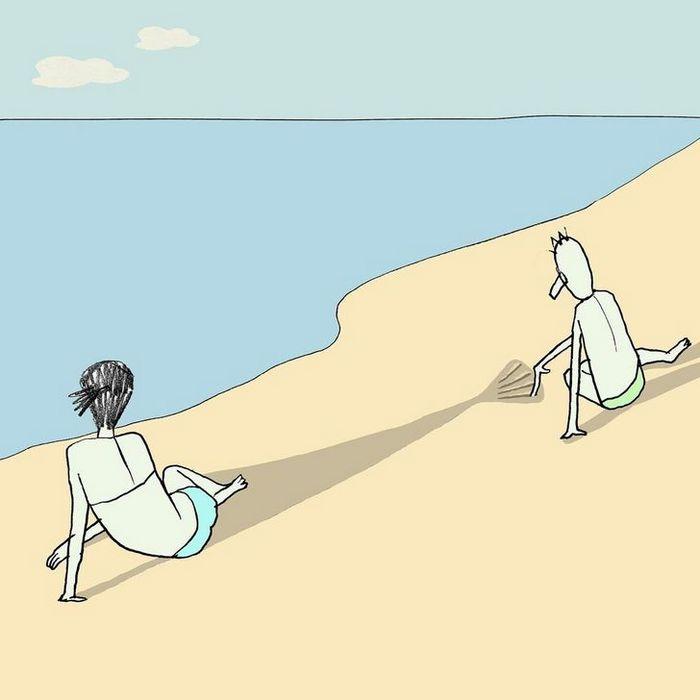 18 ilustrações de um artista que revela a verdadeira natureza do mundo moderno 2