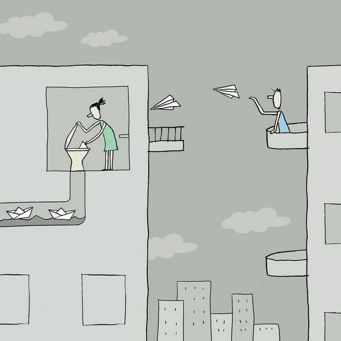18 ilustrações de um artista que revela a verdadeira natureza do mundo moderno 4
