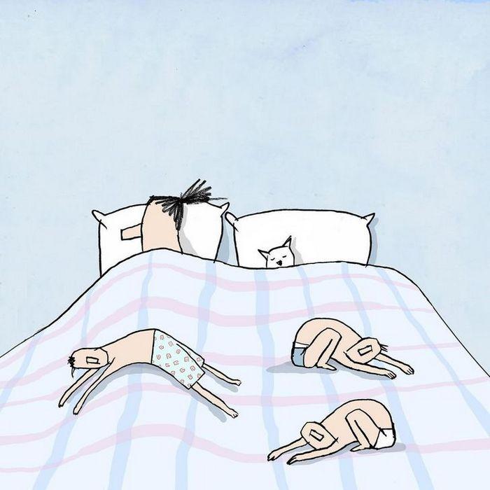 18 ilustrações de um artista que revela a verdadeira natureza do mundo moderno 12