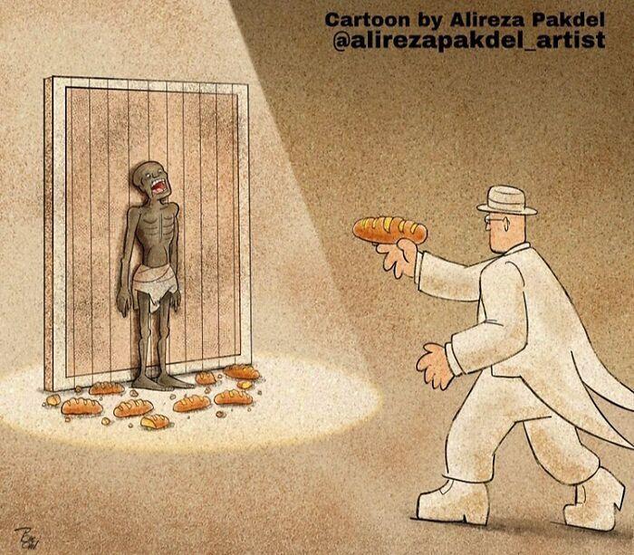 60 Ilustrações digitais que expõem as falhas da sociedade atual por Alireza Pakdel 22